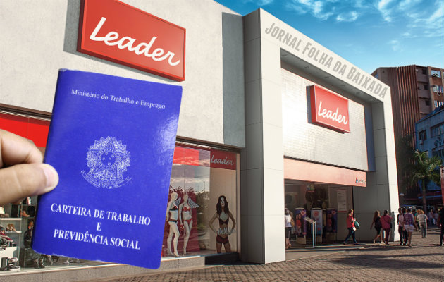 Empregos nas Lojas Leader